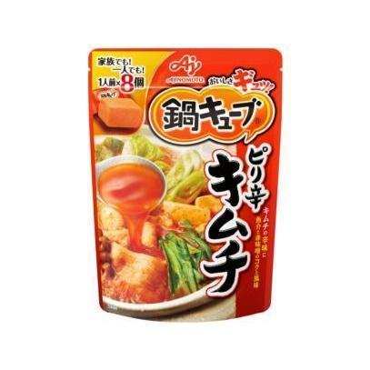 Image of Ajinomoto Cube Hotpot Soup Base 味の素鍋キューブ Food Spicy Kimchi Tokyo Direct