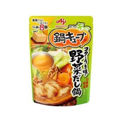 Ajinomoto Cube Hotpot Soup Base 味の素鍋キューブ Food Umami Vegetables Tokyo Direct