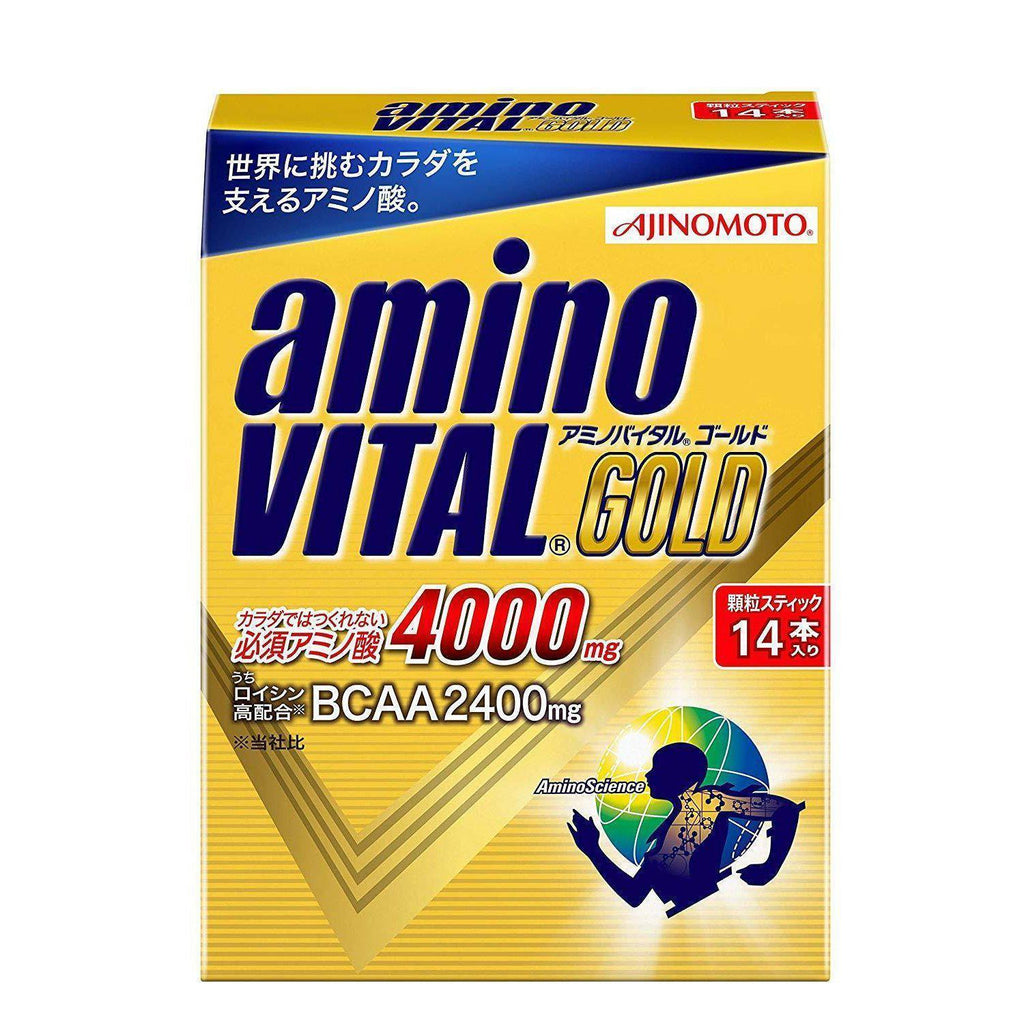 Amino Vital Charge Water GOLD 30 servings アミノバイタル GOLD 30本入箱 Life 14 Tokyo Direct