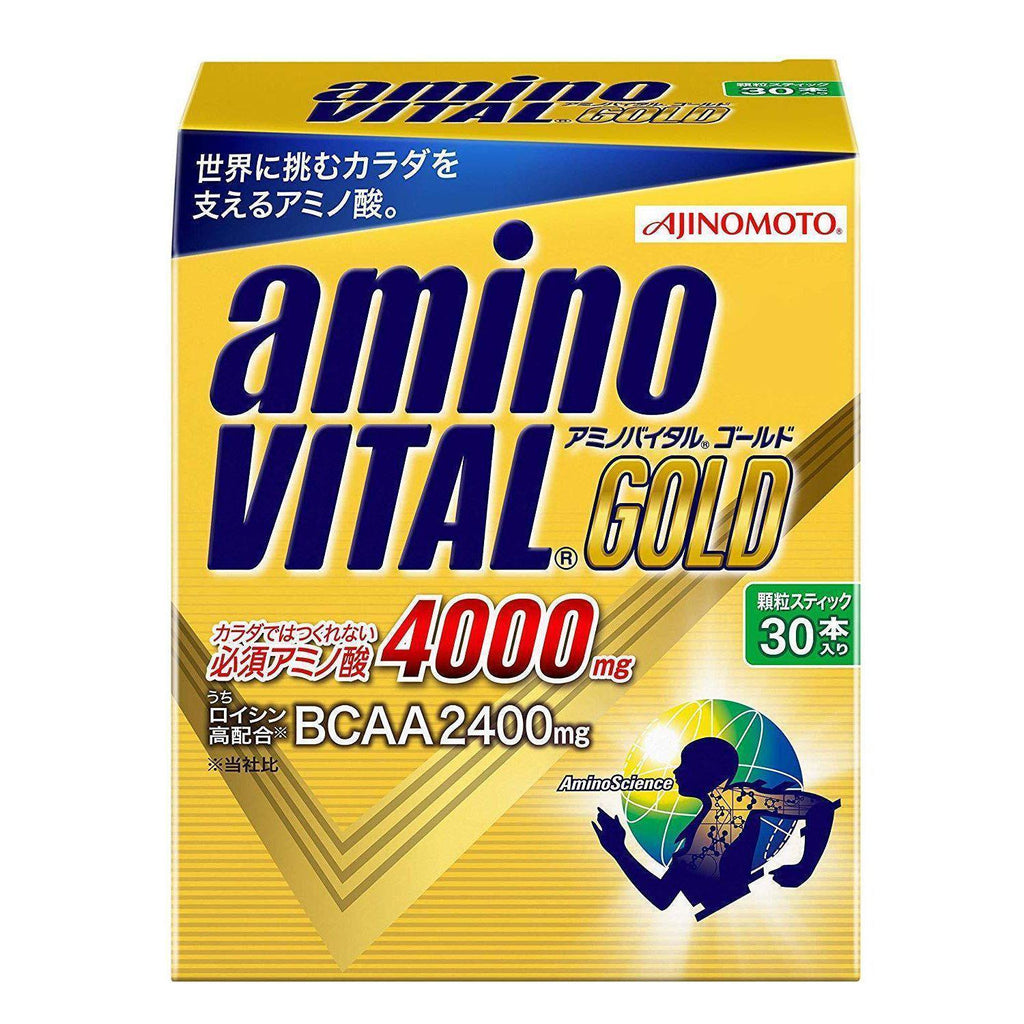 Amino Vital Charge Water GOLD 30 servings アミノバイタル GOLD 30本入箱 Life 30 Tokyo Direct