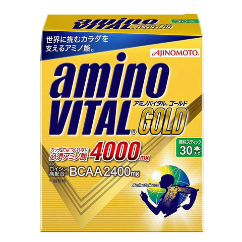 Image of Amino Vital Charge Water GOLD 30 servings アミノバイタル GOLD 30本入箱 Life 30 Tokyo Direct