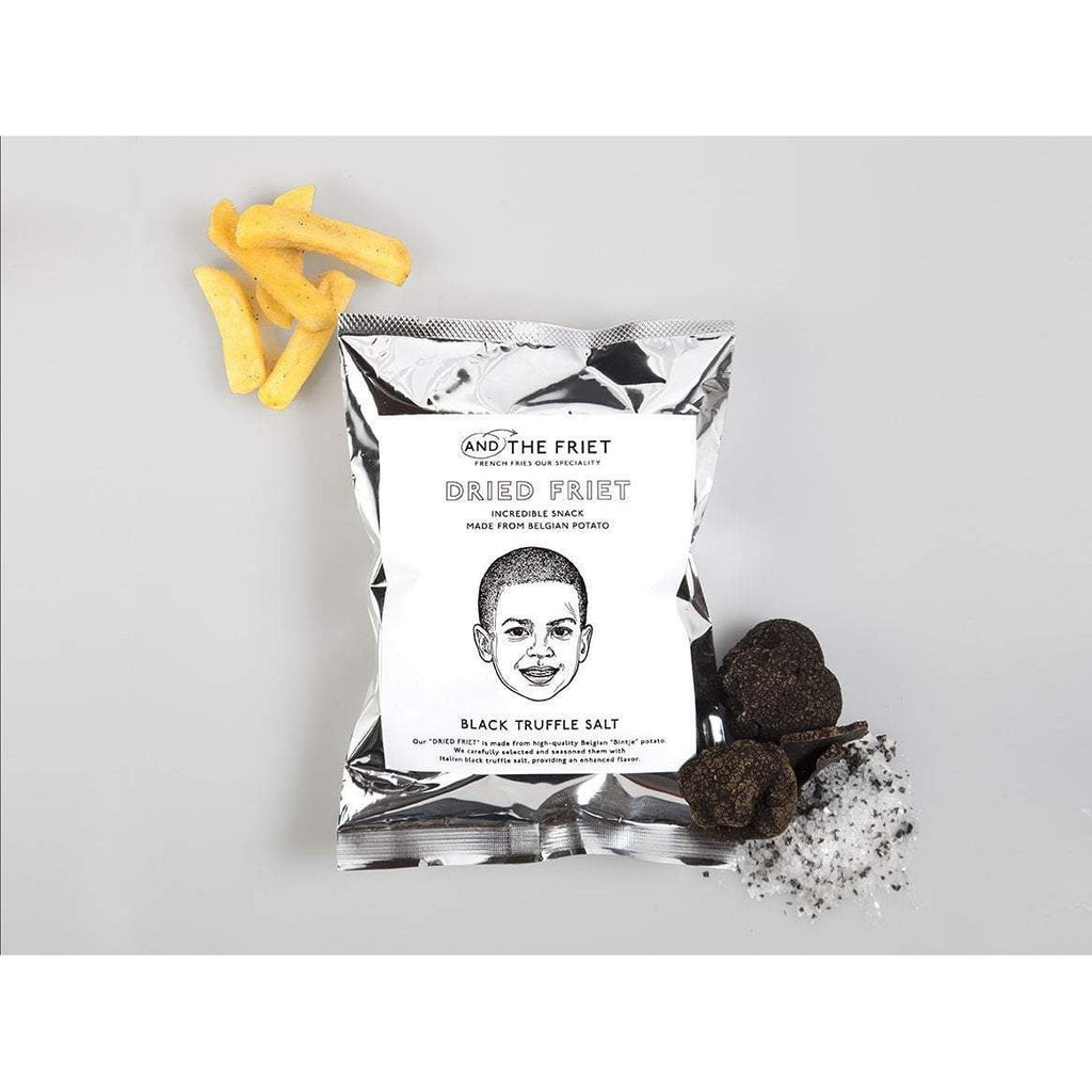 AND THE FRIET DRIED FRIET アンドザフリットドライフリット Food Black Truffle Salt Tokyo Direct