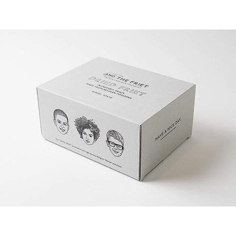 Image of AND THE FRIET DRIED FRIET Gift Box Mini 5pcs アンドザフリットドライフリットギフトボックスミニ5pcs Food Tokyo Direct