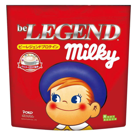 be LEGEND Whey Protein FUJIYA Poko Milky Cacao Flavour ビーレジェンド ホエイプロテイン ポコちゃん ミルキーココア風味 Life Tokyo Direct