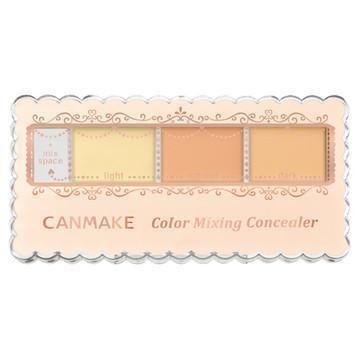 Image of CANMAKE Colour Mixing Concealer キャンメイクカラーミキシングコンシーラー Life C12 Yellow & Orange Beige Tokyo Direct