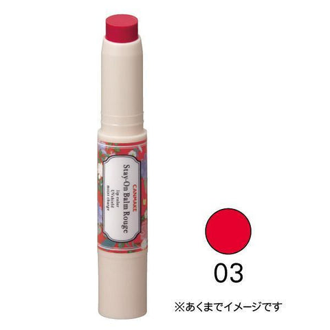 Image of CANMAKE Stay-On Balm Rouge ステイオンバームルージュ Life 03 Tiny Sweetpea Tokyo Direct