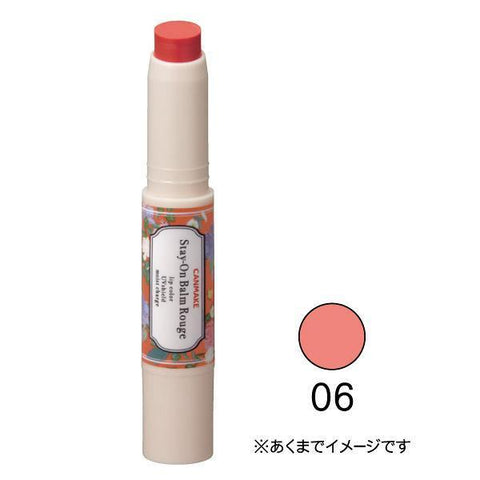 Image of CANMAKE Stay-On Balm Rouge ステイオンバームルージュ Life 06 Sweet Clematis Tokyo Direct
