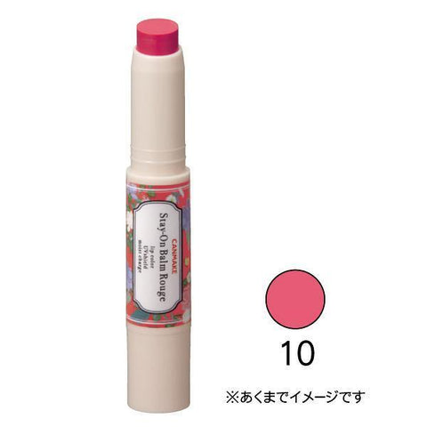 Image of CANMAKE Stay-On Balm Rouge ステイオンバームルージュ Life 10 Flowery Princess Tokyo Direct