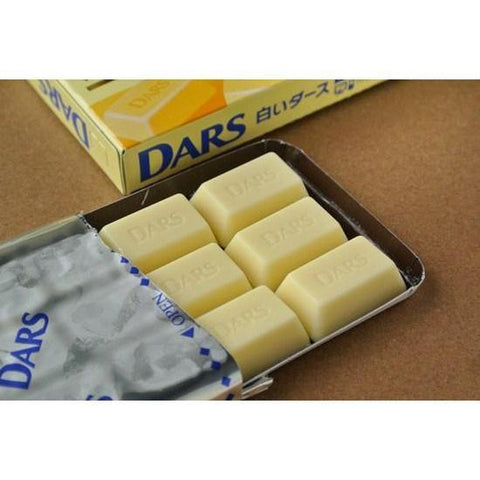 Image of DARS Chocolate (White) 10pcs 森永 白いダース 10箱 Sweets Tokyo Direct