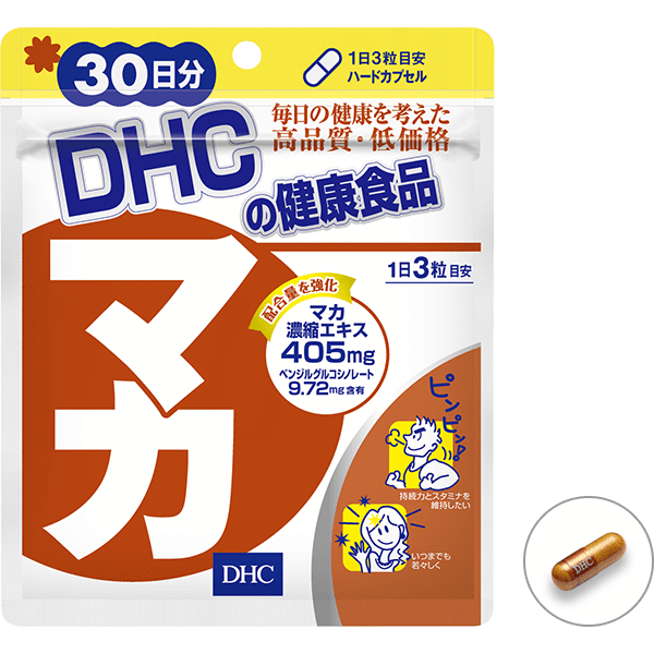 DHC Maca Supplement  DHC マカ Life 90 capsules Tokyo Direct
