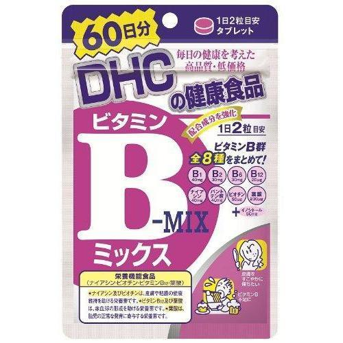 DHC Vitamin B Mix (hard capsule) DHC ビタミンBミックス Life 120 Tokyo Direct
