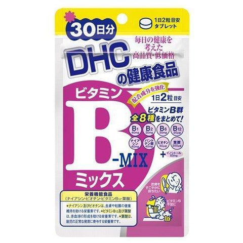 DHC Vitamin B Mix (hard capsule) DHC ビタミンBミックス Life 60 Tokyo Direct