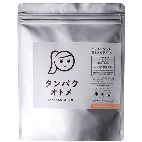 Diet Beauty Protein -Tampaku Otome 260g タンパクオトメ 美容専門プロテイン 260g Life Refreshing Peach Tokyo Direct