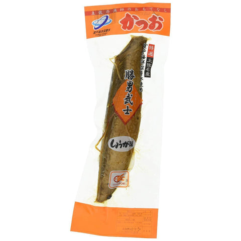 Image of Dried Bonito (Ginger) Yoshinaga 1 piece 吉永鰹節店 勝男武士 しょうが味 Food Tokyo Direct