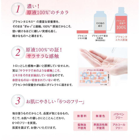 fracora WHITE'st Concentrated Placenta Essence フラコラWHITE'stプラセンタエキス原液 Life Tokyo Direct