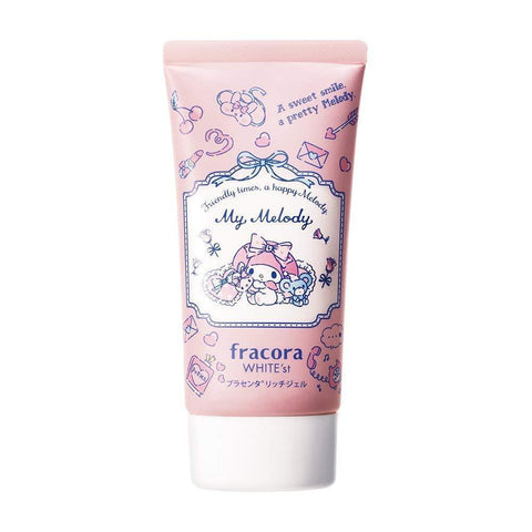 Image of fracora White'st Placenta Rich Gel (My Melody) 65g フラコラホワイテスト プラセンタ リッチジェル マイメロディ 65g Life Tokyo Direct