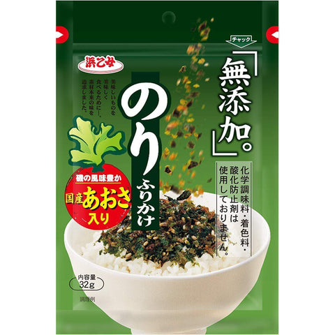 Furikake Rice Seasoning Seaweed (No additives) 5pcs 無添加のりふりかけ Food Tokyo Direct