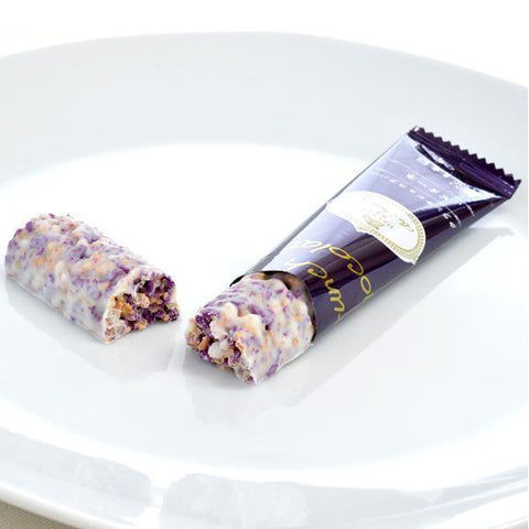 Image of Hakata Crunch Chocolat Bar Pione Grape 6pcs クランチショコラバー ピオーネ Sweets Tokyo Direct