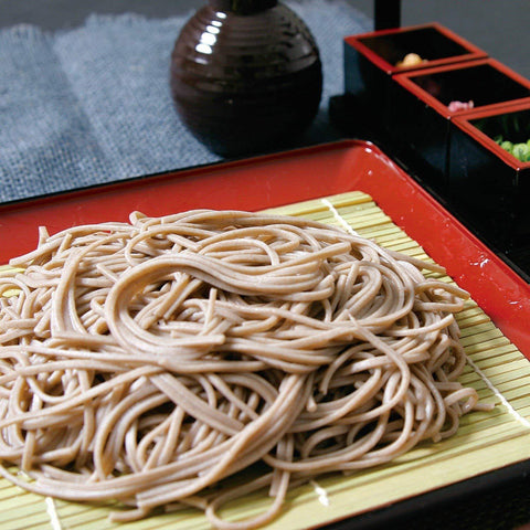 Hakubaku Simple Soba (no added salt) 20pcs はくばく 塩分ゼロそば 20袋 Food Tokyo Direct