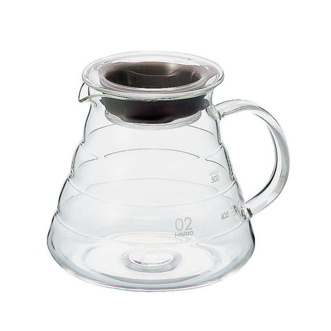 Image of HARIO V60 Microwave Coffee Server HARIO (ハリオ) V60 レンジサーバー コーヒードリップ XGS Kitchen 600ml Tokyo Direct