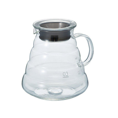 Image of HARIO V60 Microwave Coffee Server HARIO (ハリオ) V60 レンジサーバー コーヒードリップ XGS Kitchen 800ml Tokyo Direct