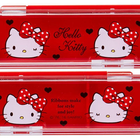 Hello Kitty Chopsticks & Case Kitchen Tokyo Direct