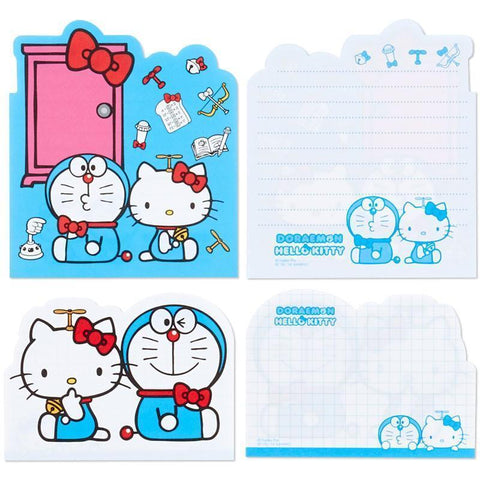 Image of Hello Kitty & Doraemon 3 layers memo pad Stationary Tokyo Direct