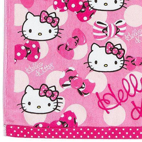 Image of Hello Kitty Face Towel Kitchen Tokyo Direct