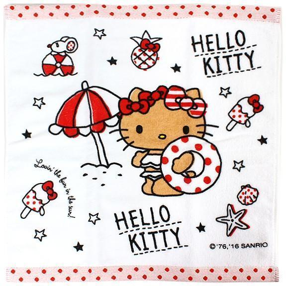Hello Kitty Hand Towel Kitchen Tokyo Direct
