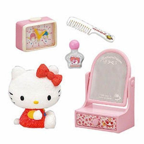 Hello Kitty Shokugan Small Toy (My Old House) あのころハローキティと フルコンプ 8個入 食玩・ガム (ハローキティ) Toy Tokyo Direct