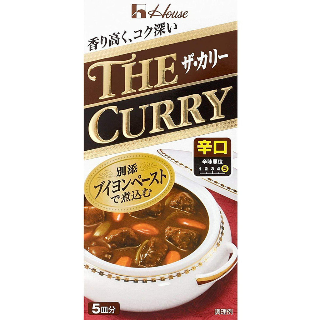 House Premium the Curry 4 pack ハウス ザ・カリー 4個 Food Hot Tokyo Direct