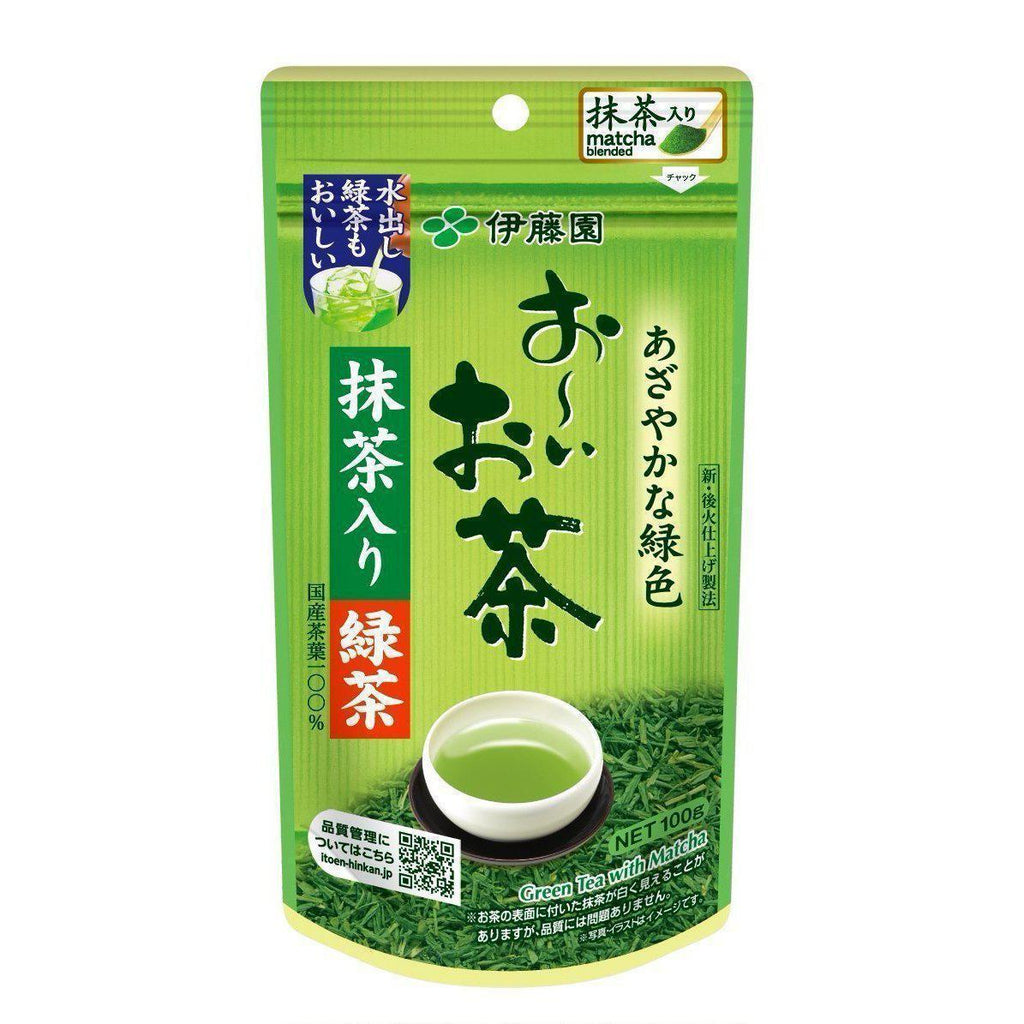 Itoen Green Tea (100g) - Sencha 煎茶 Matcha Tokyo Direct