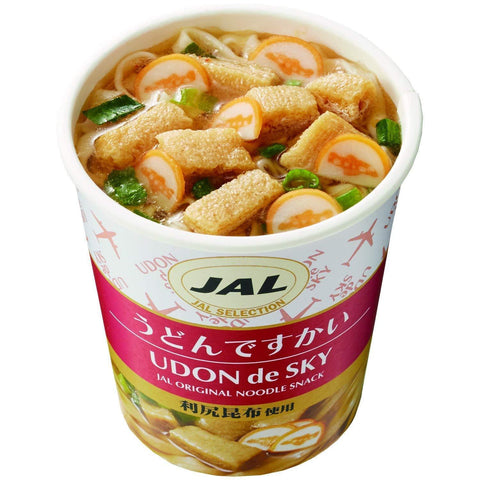 JALUX Udon-De-Sky 15pcs JALUX うどんですかい 15個 Food Tokyo Direct