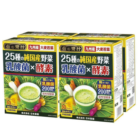 Image of Japanese Miracle Green Juice 25 vegs (lactic acid bacterium & enzyme) 25種の純国産野菜 乳酸菌×酵素 Food 120 Tokyo Direct