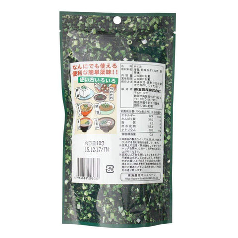 Image of Japanese Seaweed Seasoning with Leak 4 pieces トーノー ねぎ海苔 Food Tokyo Direct
