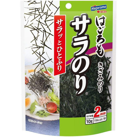 Japanese Shredded Seaweed Hagoromo 5pcs はごろも サラのり Food Tokyo Direct