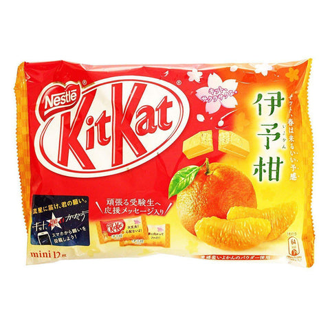 KitKat Japanese Iyokan Orange  キットカットミニいよかん Sweets 1 N/A