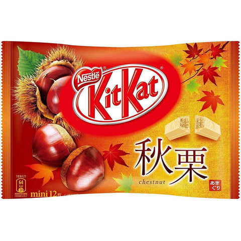 Image of KitKat Mini Autumn Nuts キットカット ミニ 秋栗 12枚 Sweets 1 N/A