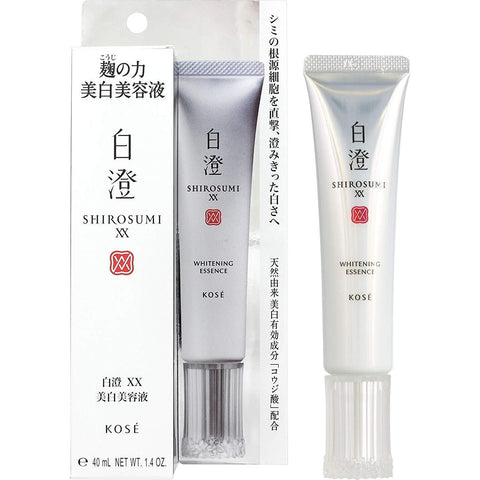 Image of KOSE SHIROSUMI XX WHITENING ESSENCE KOSE 白澄XX美白美容液  Life 40g Tokyo Direct