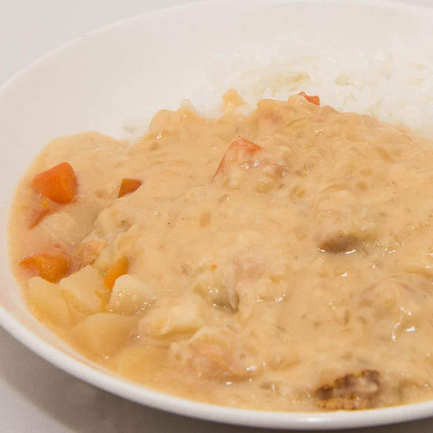 KOTOBUKI White Curry Medium Hot🌶🌶 (Ready To Eat) 2pcs 寿フーズ白いカレー中辛 2個入 Food Tokyo Direct