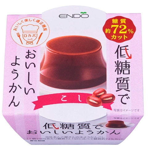 Image of Low-Carb Yokan (plain) 6pcs 低糖質ようかん こし 6個 Sweets Tokyo Direct