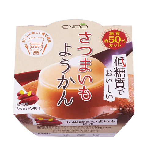 Image of Low-Carb Yokan (Sweet potato) 6pcs 低糖質ようかんさつまいも 6個 Sweets Tokyo Direct