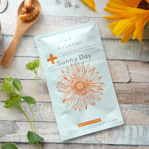 Image of LuLuLun Plus Facial Mask (Sunny Day) 5 sheets ルルルンプラス サニーデイ5包入 Life Tokyo Direct