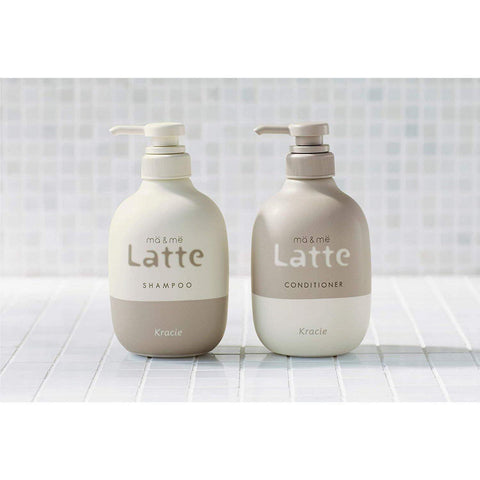 Image of ma&me Latte Hair Care Series マー&ミーLatteヘアケア Life Shampoo Bottle Tokyo Direct