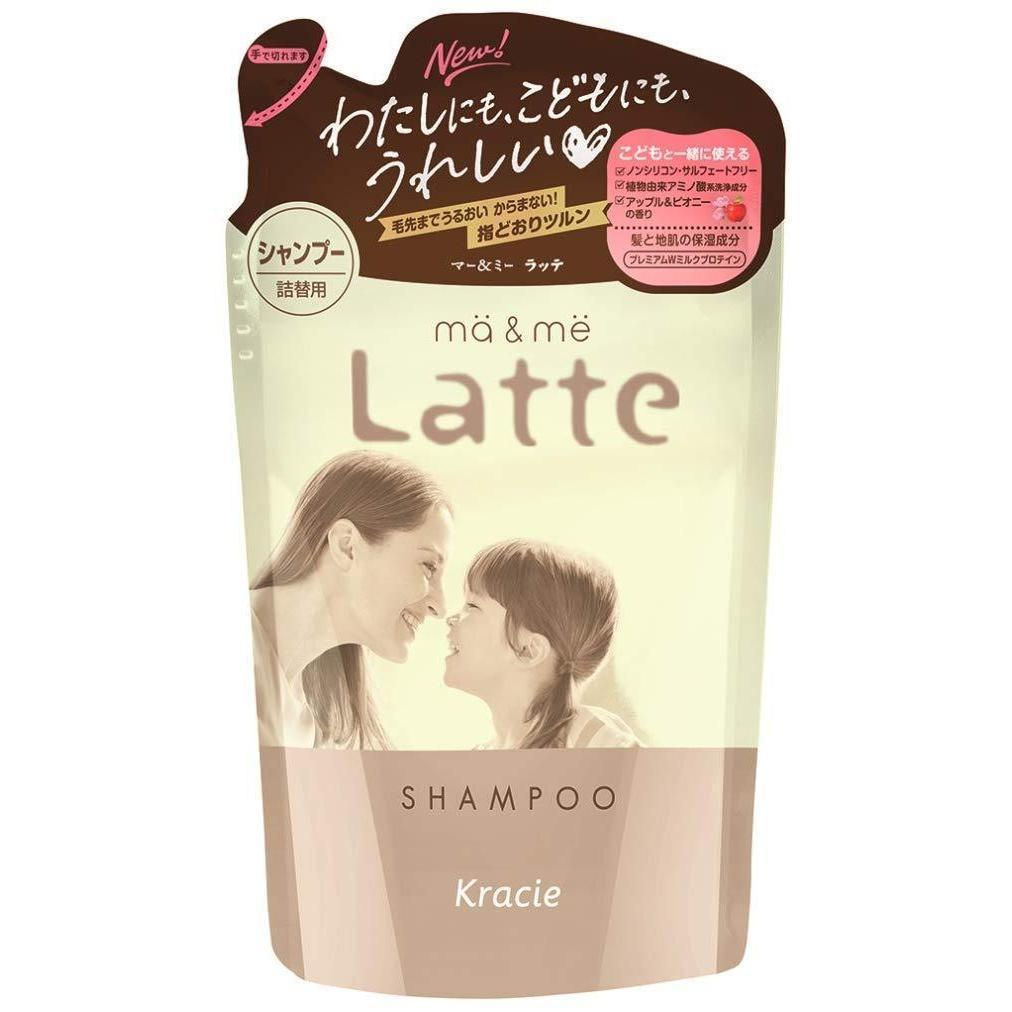 ma&me Latte Hair Care Series マー&ミーLatteヘアケア Life Shampoo Refill Tokyo Direct