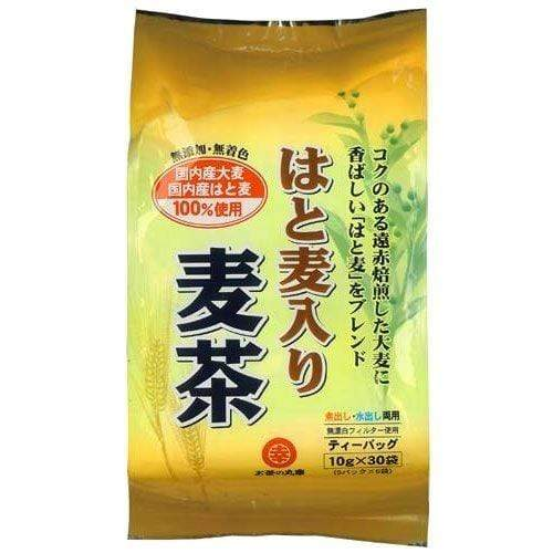Maruko Japanese Barley Tea with Job's Tear 2 pieces お茶の丸幸 はと麦入り麦茶 2個 Food Tokyo Direct
