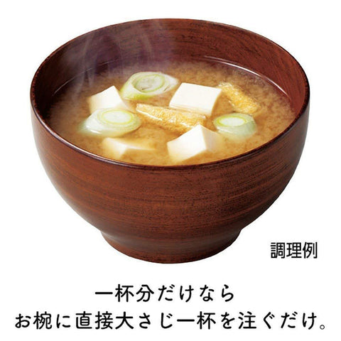 Image of Marukome Miso (Red) 430g x 10pcs マルコメ 液みそ赤だし 430g×10本 Food Tokyo Direct