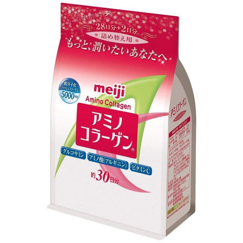 Image of Meiji Amino Collagen 明治アミノコラーゲン Life Refill Tokyo Direct