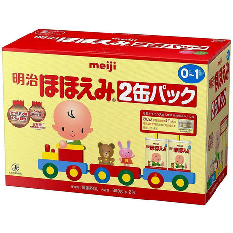 Image of Meiji Hohoemi Baby Milk Powder (Milk Formula) 800g 明治 ほほえみ 800g Life 2 Tokyo Direct