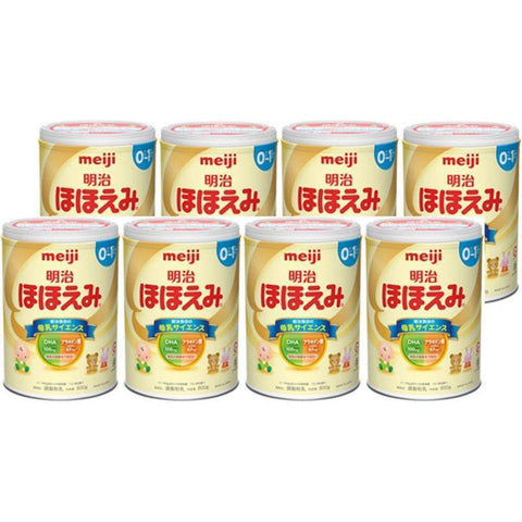 Image of Meiji Hohoemi Baby Milk Powder (Milk Formula) 800g 明治 ほほえみ 800g Life 8 Tokyo Direct